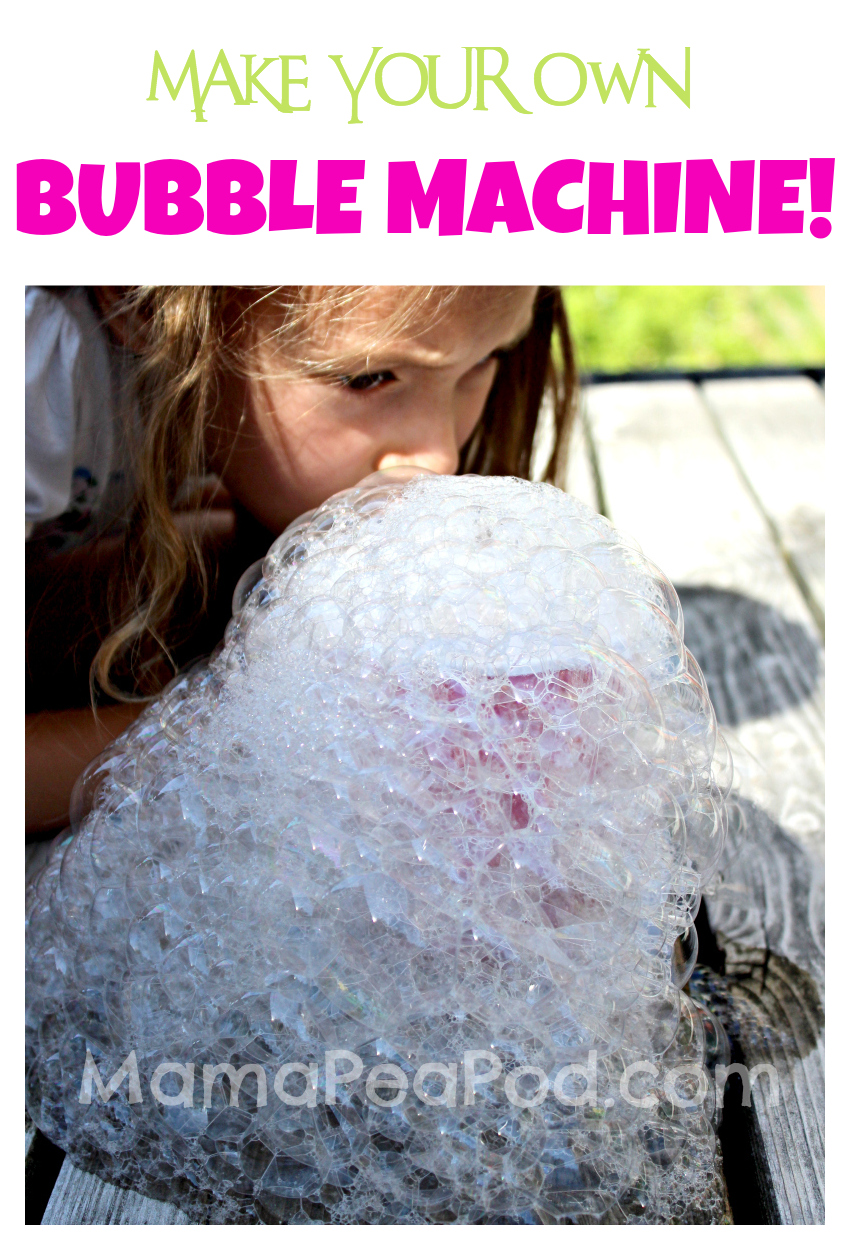 Pin It! DIY Bubble Machine