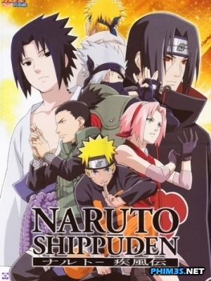 Naruto Shippuuden Tập 395,396,397 Vietsub