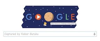 Penjelasan Tentang Tampilan Google Doodle yang Turut Memeriahkan Misi Penjelajahan Pluto
