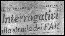 FASCI D' AZIONE RIVOLUZIONARIA (F.A.R.)