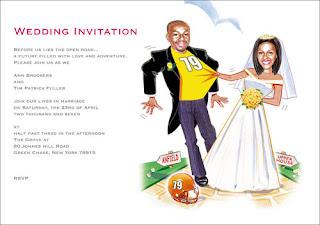 Kartu Undangan Pernikahan Lucu