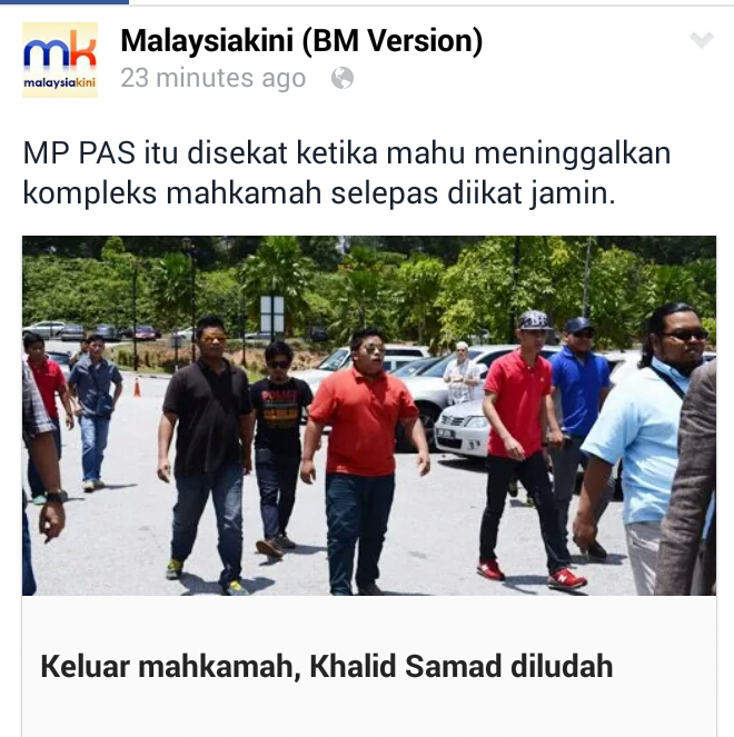 Trend Terbaru LUDAH Khalid Samad Anwarinas Makin POPULAR Selepas Ice Bucket Challenge
