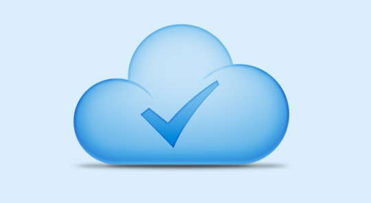 Cloud Icon PSD