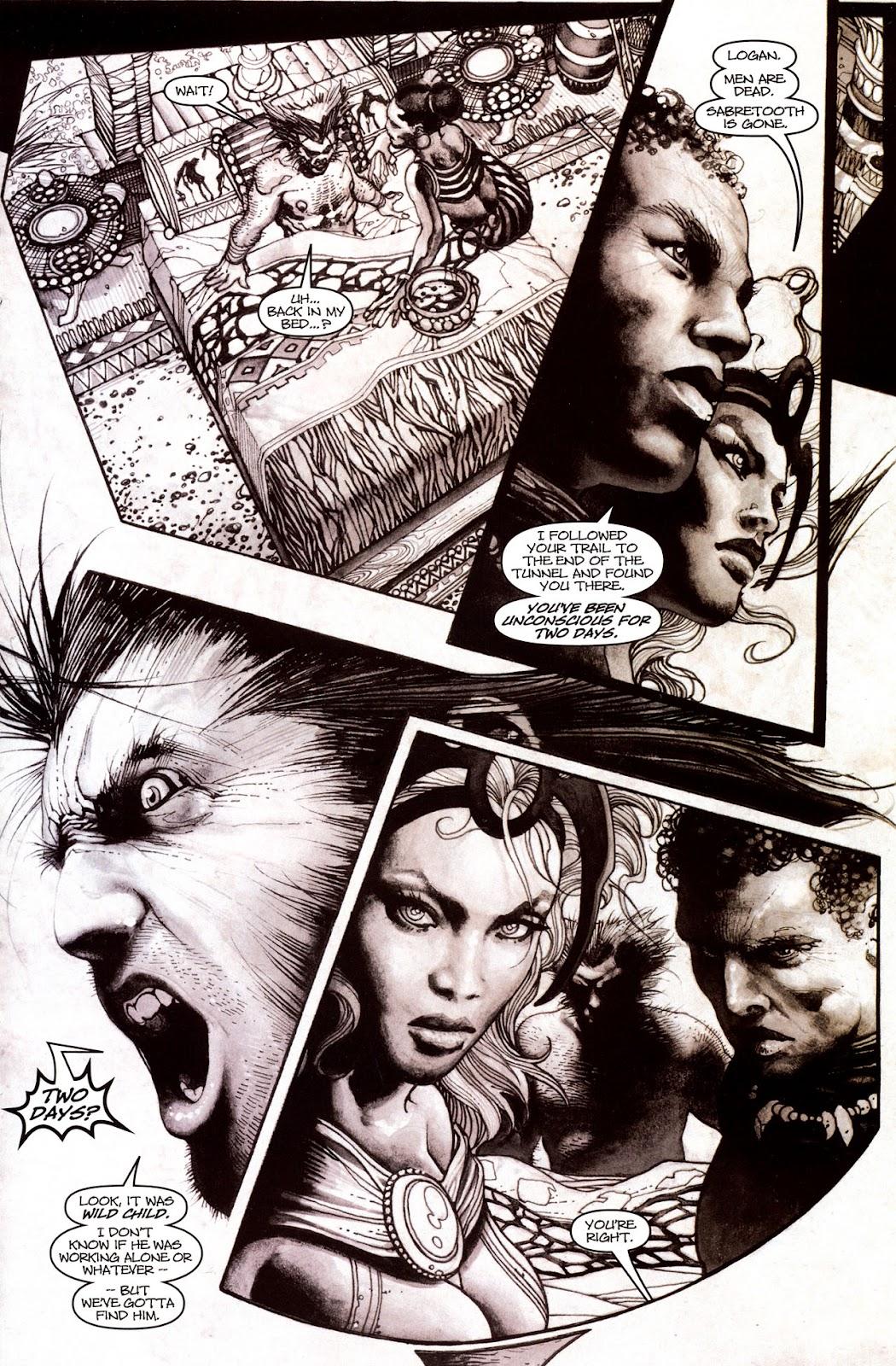 Read online Wolverine (2003) comic -  Issue #53 - 20