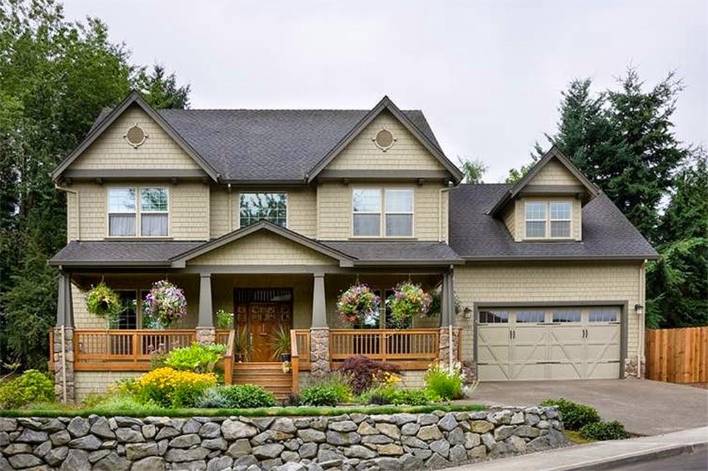 Domy w stylu ameryka skim projekt dom for Typical american house plan