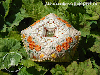 Осенняя бискорню с тыквами The Victoria Sampler