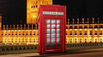 London Portable Toilet by CALLAHEAD