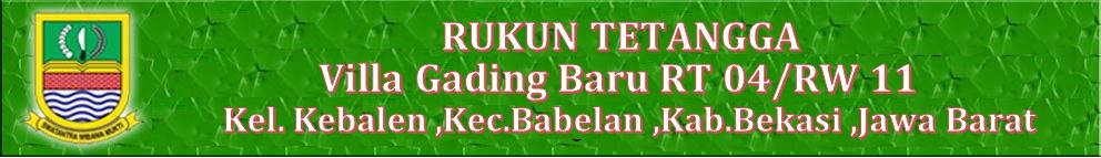 VILLA GADING BARU