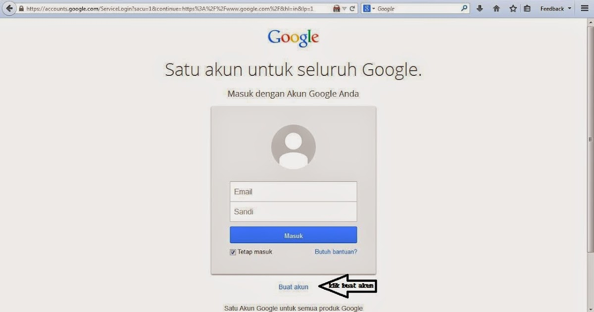 Cara Membuat Email Google (100%gratis) | DENA ROCK CITY