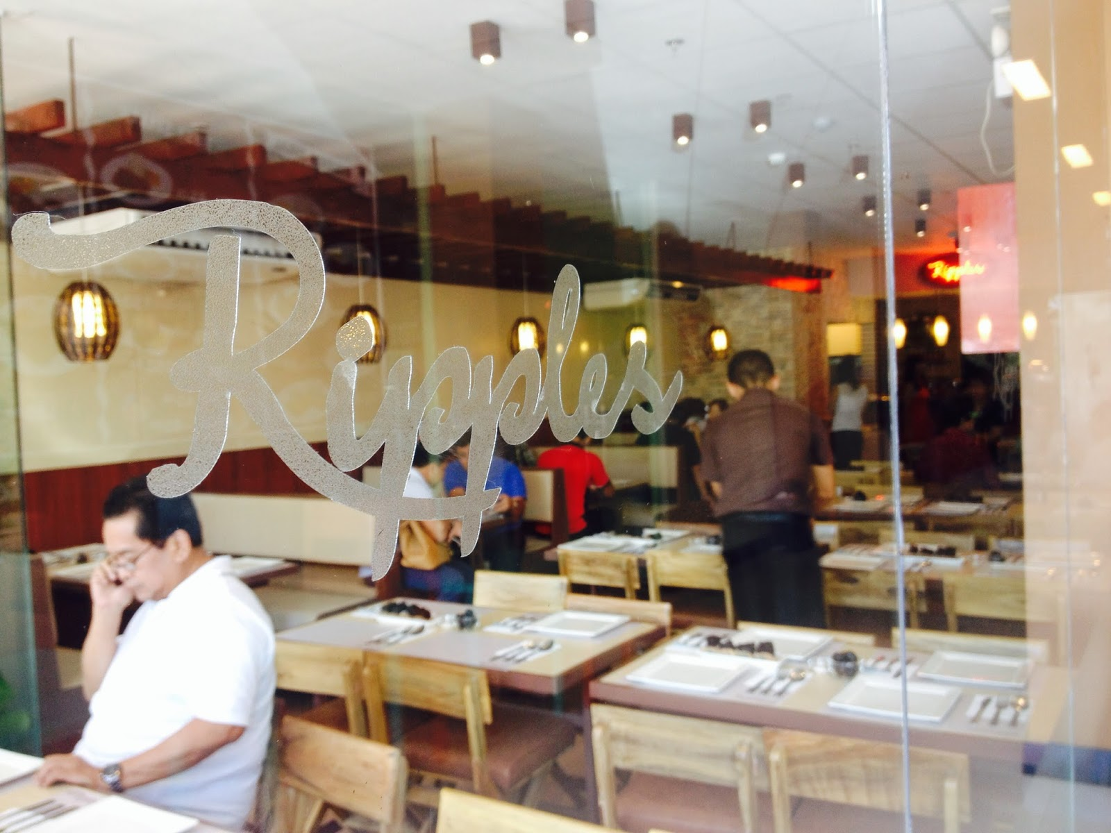 review ripples diner and cafe cdo - Glass Front Cafe 2015