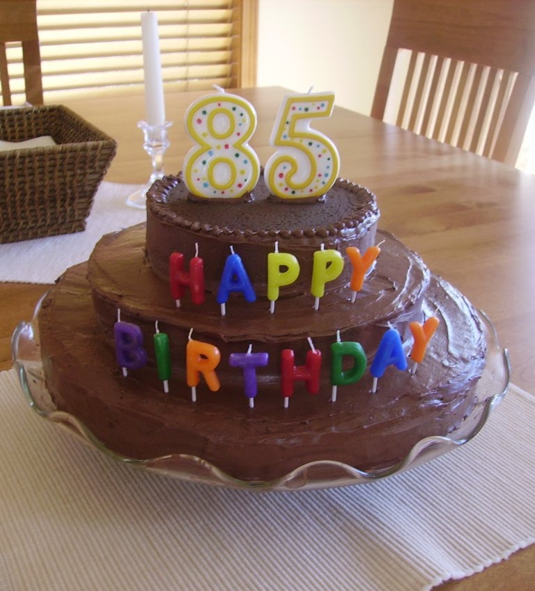 party cakes grandpa dick s 85th birthday cake