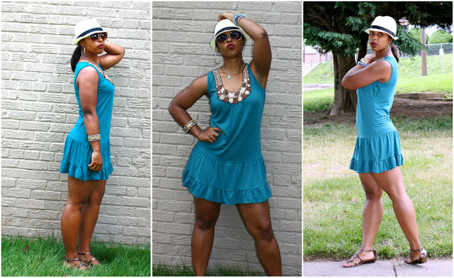 jjpcollage - How To Style a Summer Dress with Gladiator Sandals