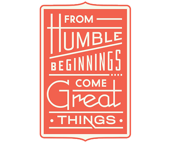 Humble Beginnings Print by Dan Cassaro from Help Ink