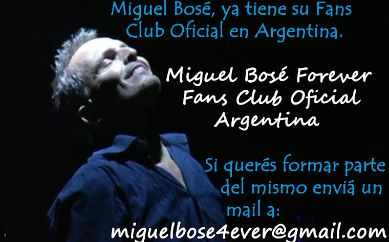 Fans CLub Oficial de Miguel Bos
