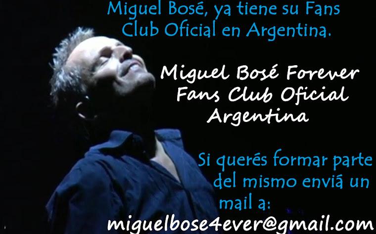 Fans CLub Oficial de Miguel Bosé