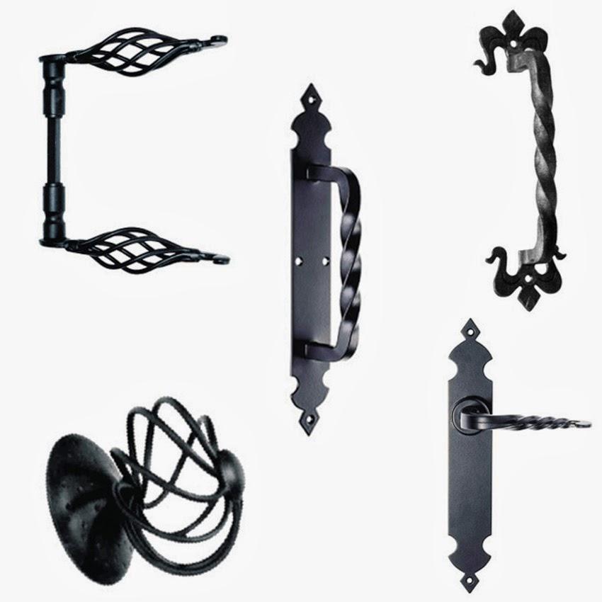 Alcaglas herrajes con estilo para todo tipo de puertas - Herrajes de forja ...