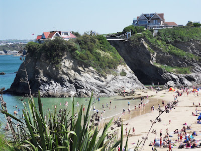 Newquay Cornwall beach