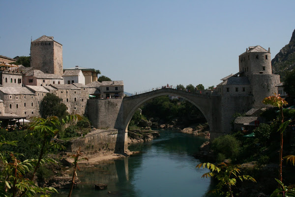 Bridge in Mostar, Bosnia