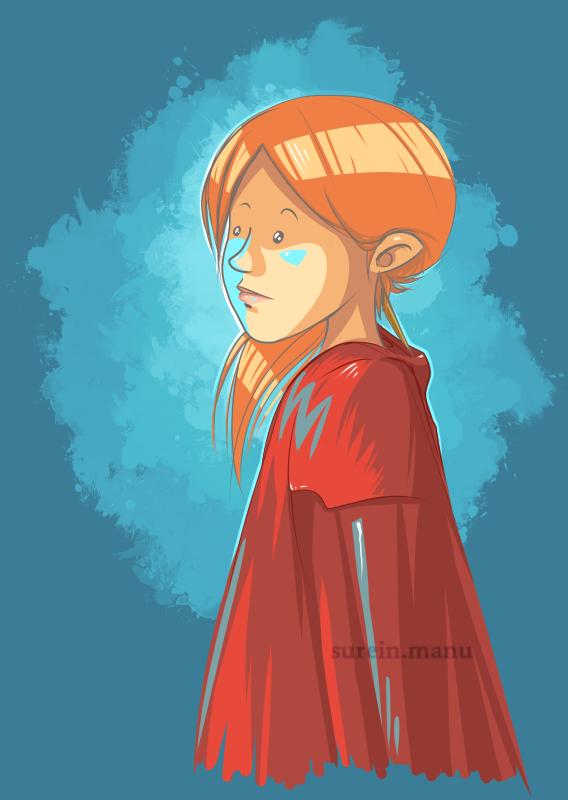 Petit chaperon rouge ?