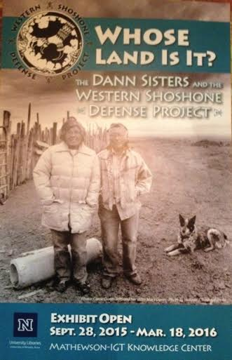 Western Shoshone Carrie Dann Honored in Reno, Nevada