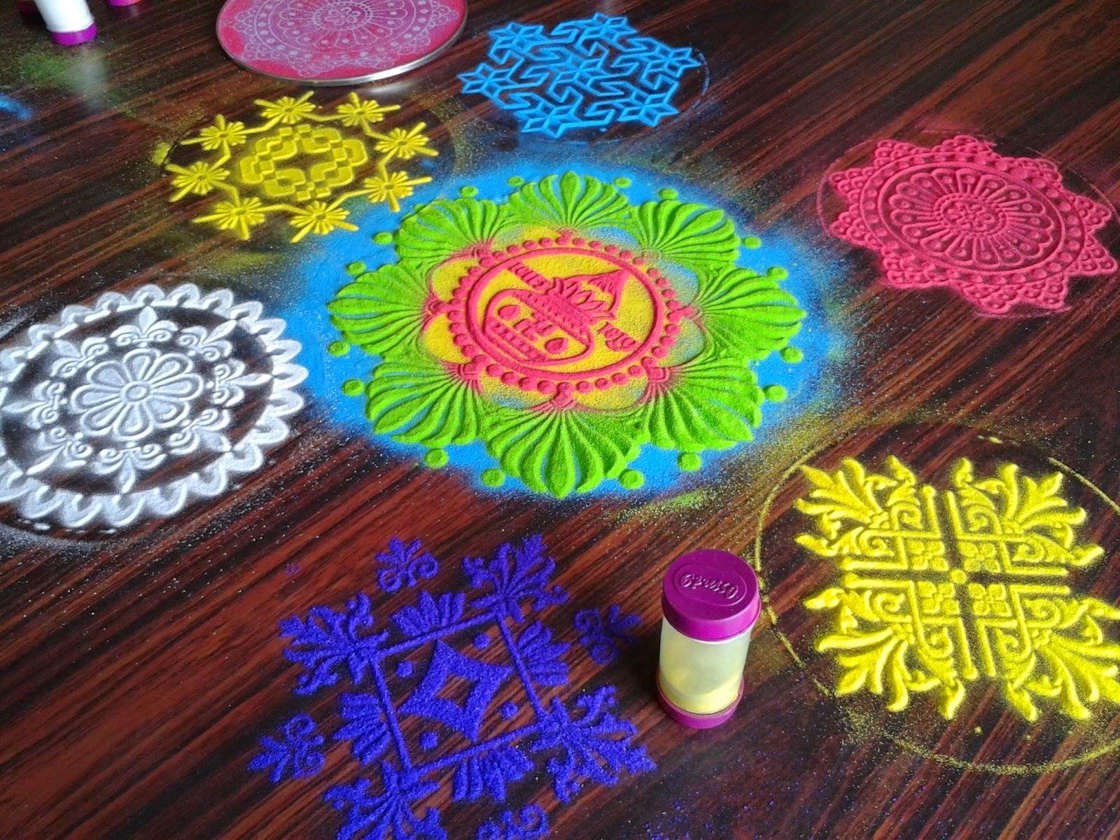 Diwali Rangoli Kolam Designs Images Rangavali Stencil Deisngs