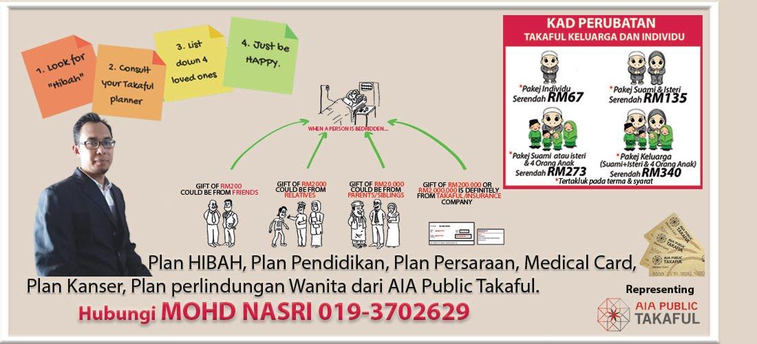 AIA Public Takaful - Medical card terbaik, Plan hibah terbaik