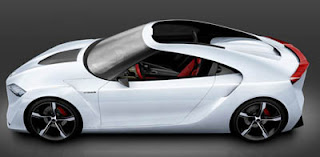 Toyota FT-HS Hybrid Sports Car concept