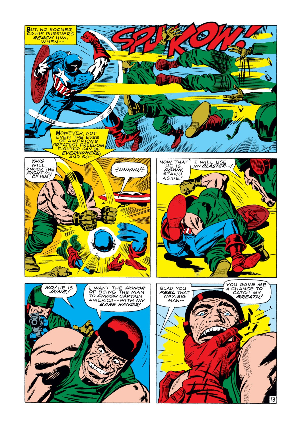 Captain America (1968) Issue #103 #17 - English 14