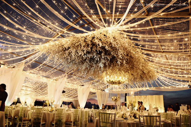 Affinity events beautiful wedding tent decor for Beautiful wedding decoration ideas