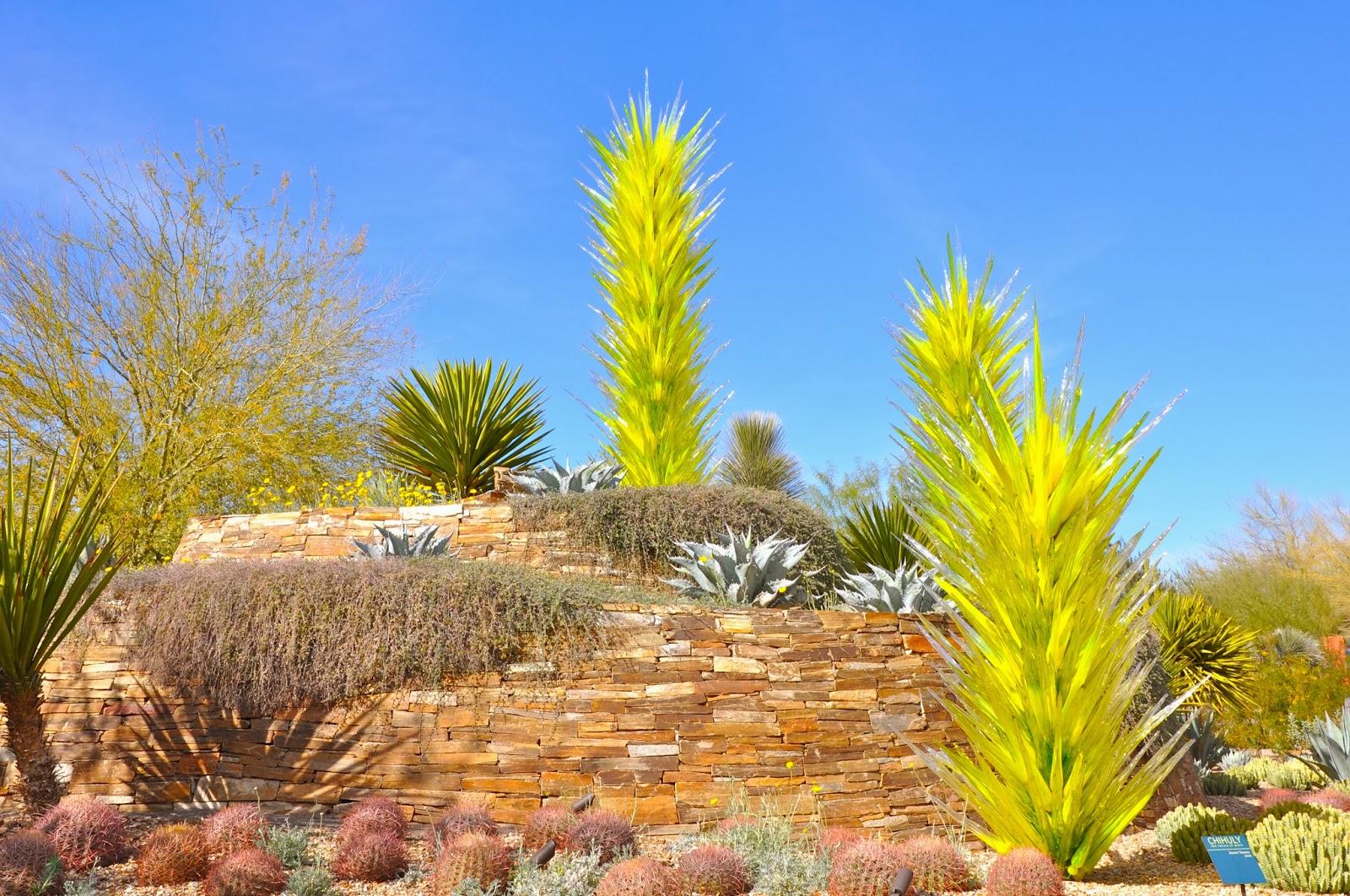 Sunshine Nomads 2014 Chihuly Exhibit Desert Botanical Gardens Phoenix Arizona