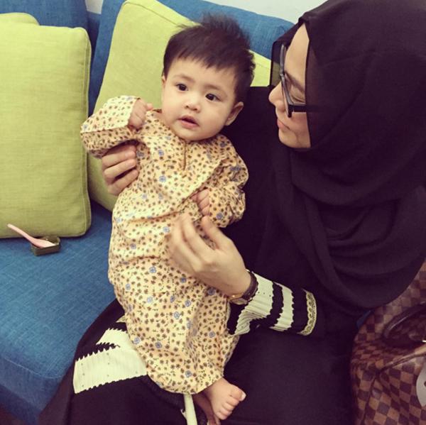 MESTI TENGOK! Wajah Comel Anak Kedua Nabil Ahmad Seiras Lara Alana