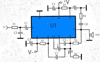 50W amplifier circuitschematic
