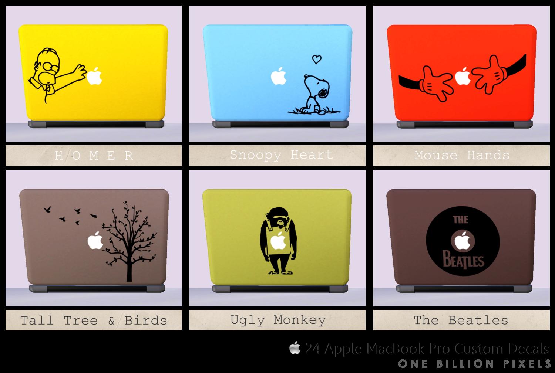 macbook pro stickers tumblr 24 apple macbook pro custom
