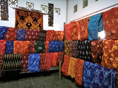 Songket Cloth Sukarara Village Lombok
