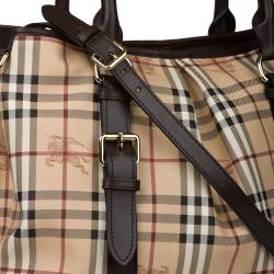 158346352dfc Brands For Fraction  Burberry Haymarket Check Northfield Tote Bag ...