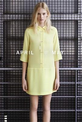 Zara primavera verão 2014 vestido camisa chemisier