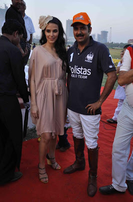 neha dhupia at 3rd asia polo match 2012 unseen pics