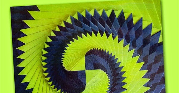 The Papercraft Post Curlicue Kinetic Origami By Assia Brill A