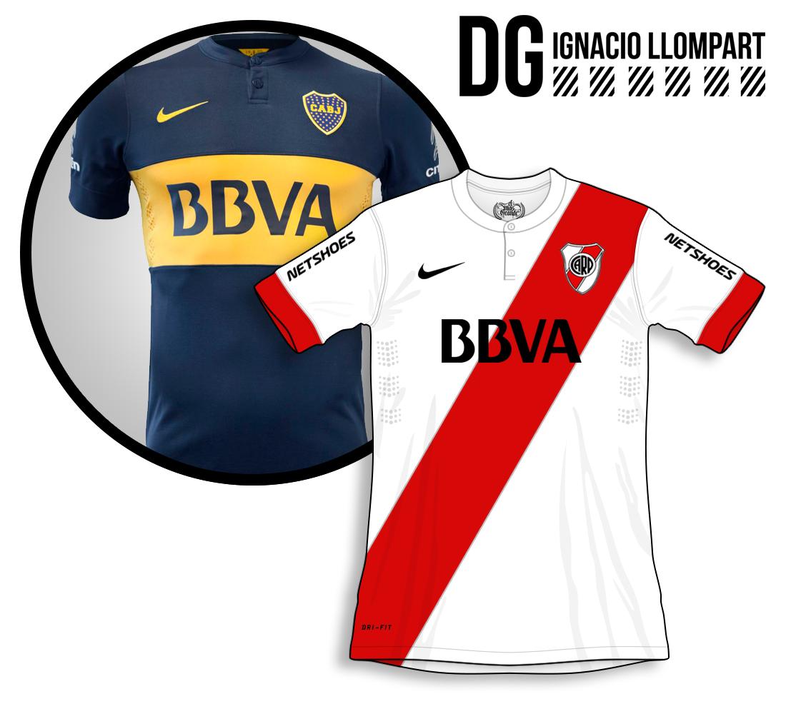 venta en línea elegir original seleccione para genuino Intercambiando Marcas // River con Nike & Boca con Adidas ...