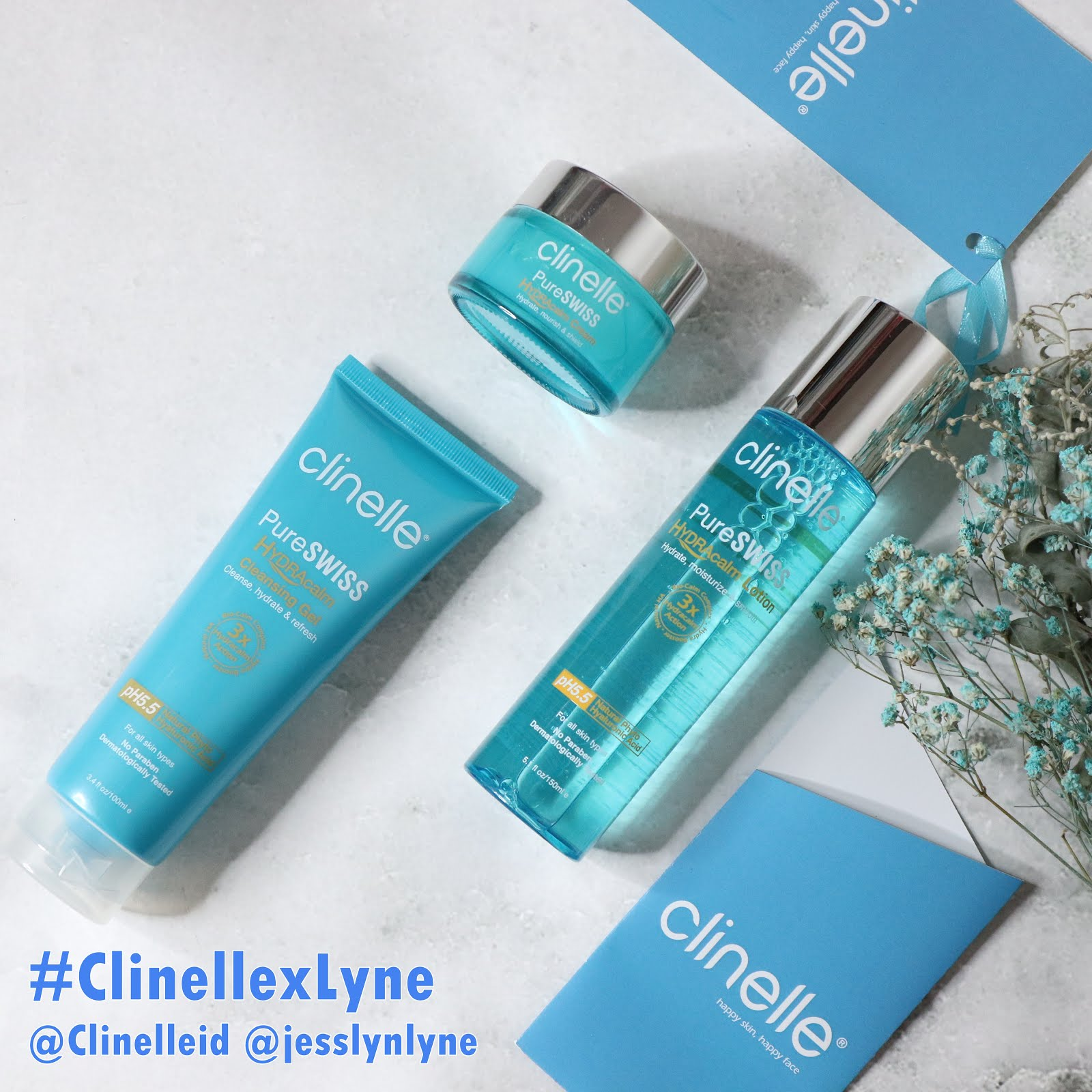 Clinelle x Lyne GIVEAWAY