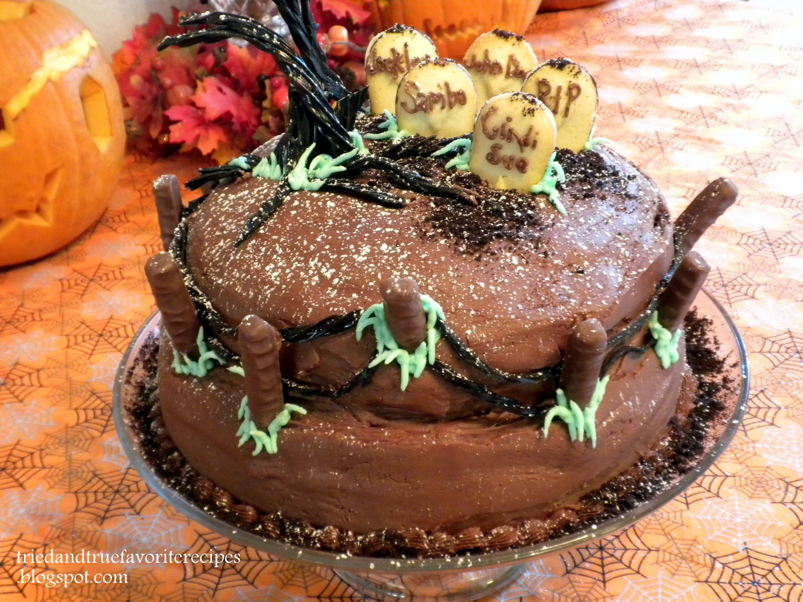 hereu0027s this yearu0027s halloween cake
