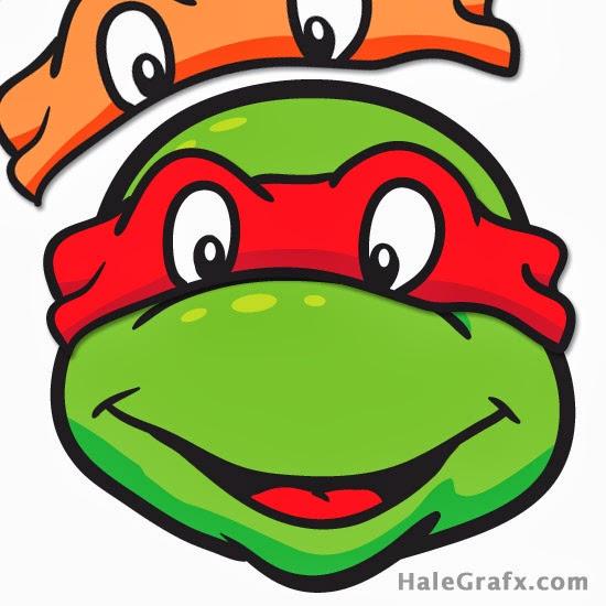 Ponle El Antifaz A Las Tortugas Ninja Para Imprimir