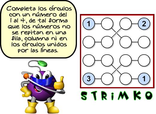 Retos matemáticos, Desafíos matemáticos, Problemas matemáticos, problemas de ingenio, problemas de lógica, Strimko, Sudoku, Variantes del Sudoku