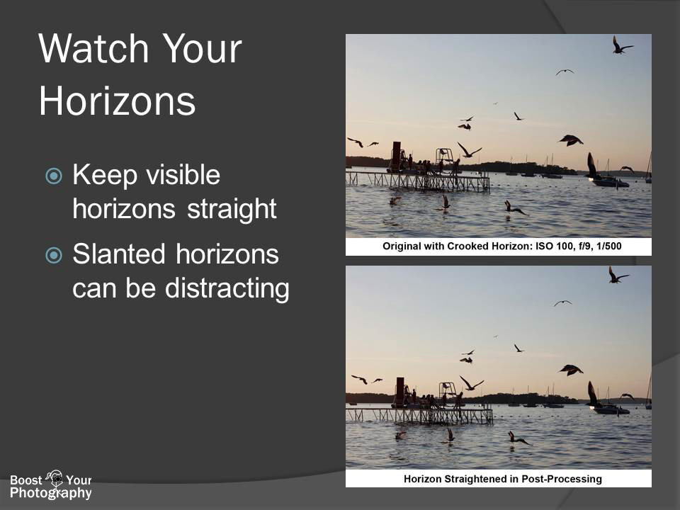 Composition: Watch Your Horizons | Boost Your Photography
