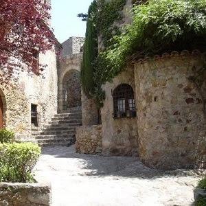 La villa medievalde Pals
