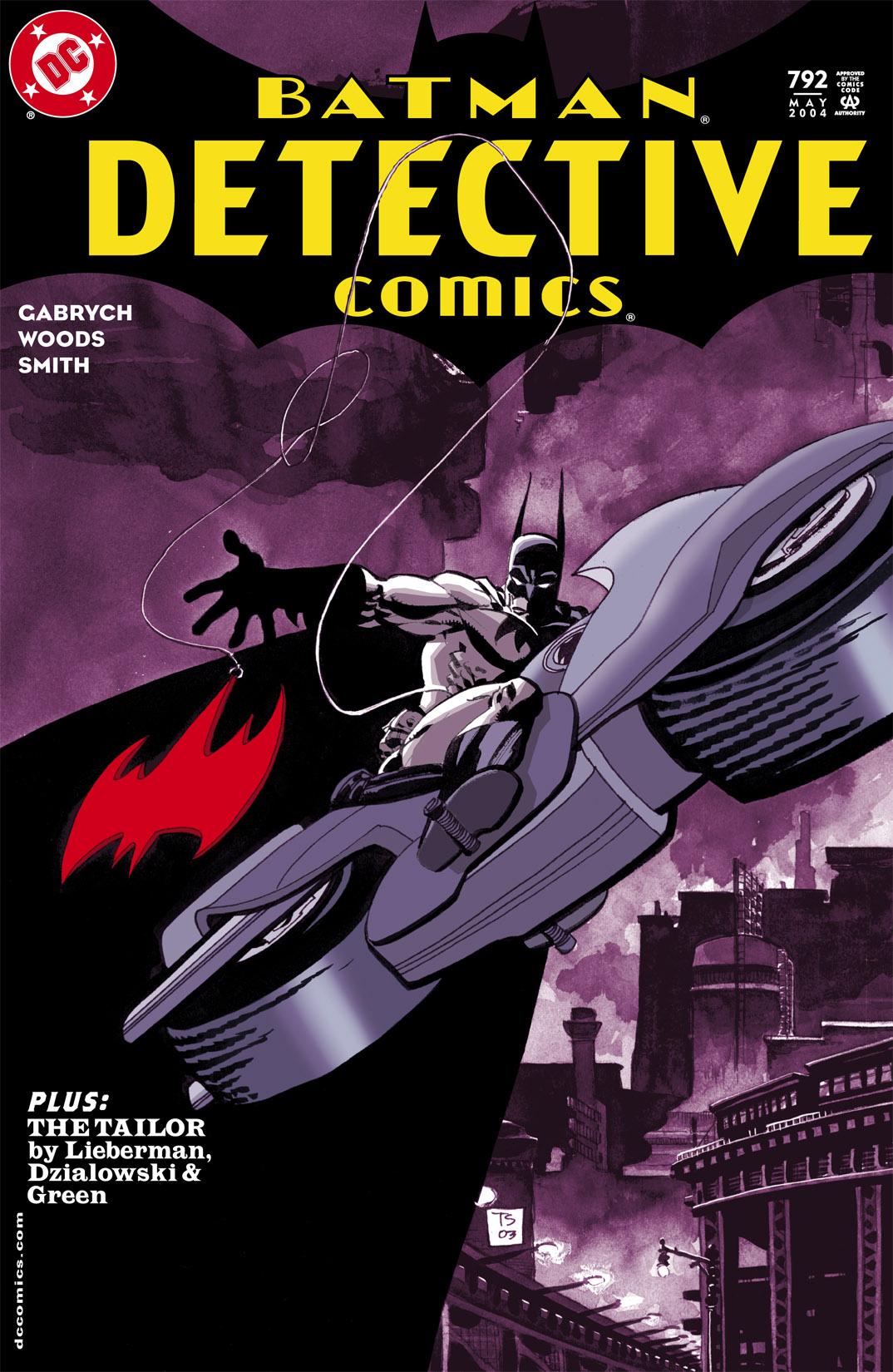 Detective Comics (1937) 792 Page 1