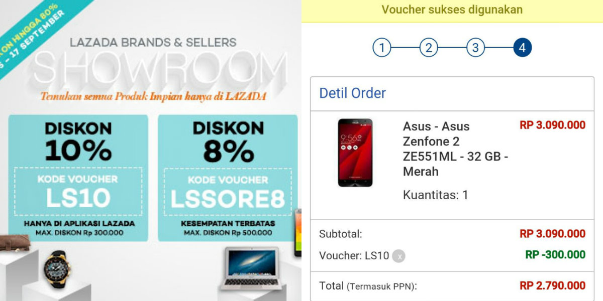 Download Voucher Lazada
