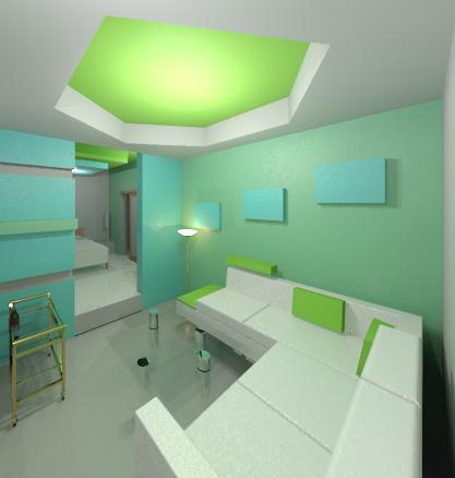 Interiores 3 combinaciones de color - Cual es el color turquesa ...