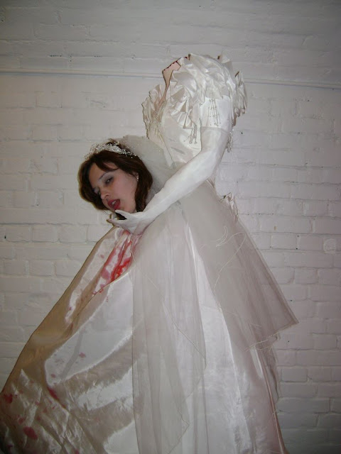 disfraces mujer sin cabeza