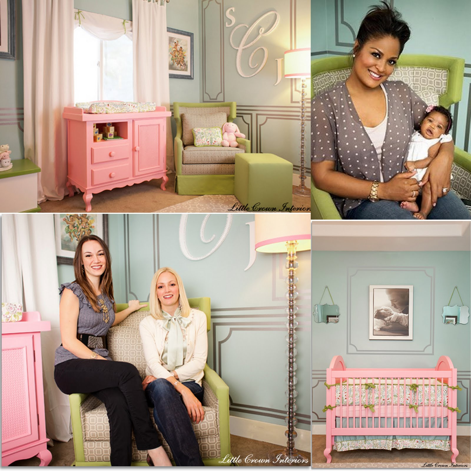 Little Crown Interiors ROCK Nursery Design